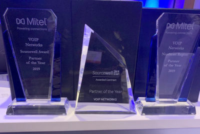 VOIP Networks Awarded as One of Mitel's Top Partners